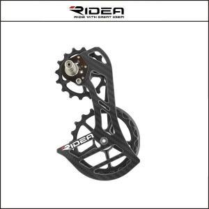 RIDEA/ライディア  C60 RD CAGE フルセラミックベアリング RD9(SRAM RED AXS)【ビッグプーリー】|agbicycle