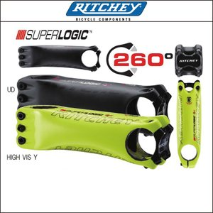 RITCHEY【リッチー】SUPER LOGIC CARBON(ステム)限定HIGH VIS Y|agbicycle