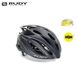 RUDY PROJECT/ルディプロジェクト RACEMASTER レースマスター MIPS ミップス ブラックステルス (マット) ヘルメット ・日本正規品|agbicycle