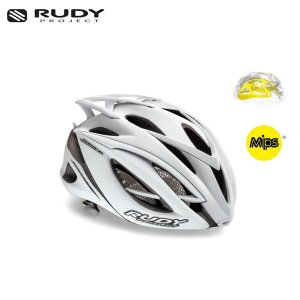 RUDY PROJECT/ルディプロジェクト RACEMASTER レースマスター MIPS ミップス ホワイトステルス (マット) ヘルメット ・日本正規品|agbicycle