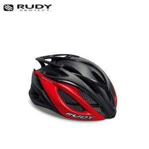 RUDY PROJECT/ルディプロジェクト RACEMASTER レースマスター ブラック-レッド (マット) ヘルメット ・日本正規品|agbicycle