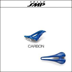 サドル SELLE SMP セラSMP カーボン CARBON BLUE|agbicycle