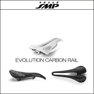 サドル SELLE SMP セラSMP エボリューション EVOLUTION WHITE CARBON RAIL|agbicycle