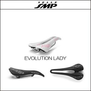 サドル SELLE SMP セラSMP エボリューション EVOLUTION LADY WHITE|agbicycle