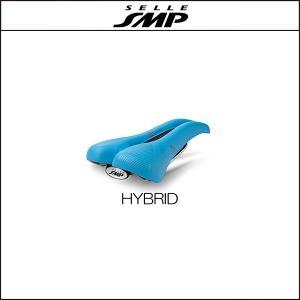 サドル SELLE SMP セラSMP ハイブリッド HYBRID LIGHT BLUE|agbicycle