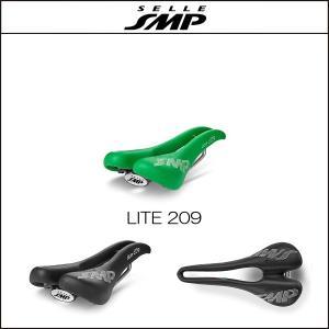 サドル SELLE SMP セラSMP ライト209 LITE 209 GREEN|agbicycle