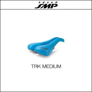 サドル SELLE SMP セラSMP ティーアールケイ ミディアム TRK MEDIUM LIGHT BLUE|agbicycle