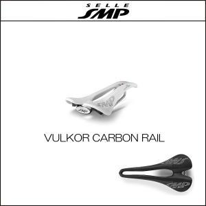 サドル SELLE SMP セラSMP ブルコー VULKOR WHITE CARBON RAIL|agbicycle