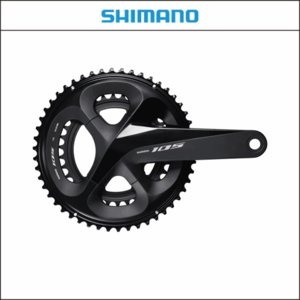 SHIMANO シマノ 105  FC-R7000 ブラック 50x34T 160mm 11S|agbicycle