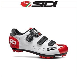 SIDI シディ MTB TRACE 2 MTBトレース2 WH/BK/RD ホワイト/ブラック/レッド agbicycle