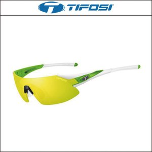 TIFOSI【ティフォージ】PODIUM XC(ポディウムXC)(ホワイト/グリーン)1070106827|agbicycle