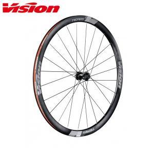 Vision/ヴィジョン TEAM 35 DISC チーム 35 ディスク クリンチャー/チューブレスレディ ホイール前後セット|agbicycle