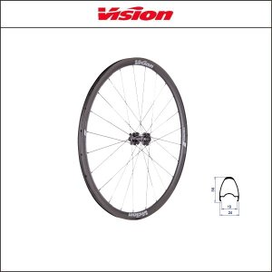 Vision(ビジョン) TRIMAX 30 DISC トライマックス30 DISC  クリンチャー gray SH11 A9|agbicycle