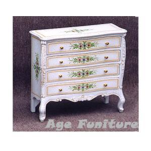 Como白家具 クラック塗装 ジュエリーボックス!ホワイト輸入家具 【送料無料】 新生活|age
