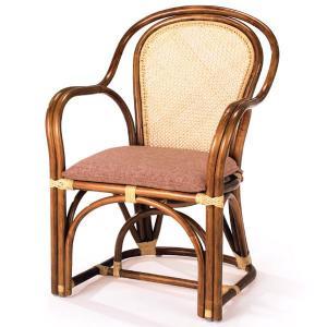 送料無料 4種の柄から選べる 上質な 籐 アームチェアー アジロ編 ( ラタン チェア 椅子 いす 敬老の日 イス A-36-3A )|age