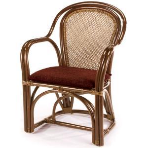 送料無料 4種の柄から選べる 上質な 籐 アームチェアー アジロ編( ラタン チェア 椅子 いす 敬老の日 イス A-36-3CN )|age