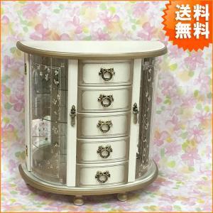 欠品中 ジュエリーボックス おしゃれ 日本製 アンティーク調 ジュエルボックス エクセレンス 宝石箱 アクセサリーボックス 国産 G-1825N 新生活|age