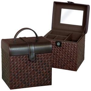 送料無料 コスメティックボックス ( メイクボックス コスメボックス 化粧箱 小物入れ モダン ) G-5684B|age