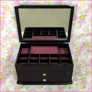 完売致しました。送料無料 日本製 クラシックスタイル ジュエルボックス ( ジュエリーボックス 宝石箱 アクセサリーボックス 小物入れ 国産 ) 新生活|age