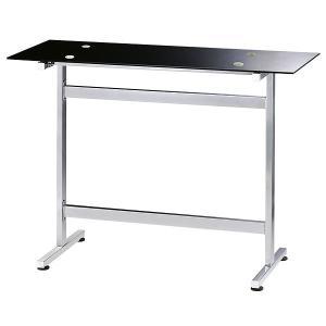 送料無料 モダン ガラストップ カウンターテーブル ( バーテーブル ハイテーブル カフェテーブル ) RD-T8102 新生活|age
