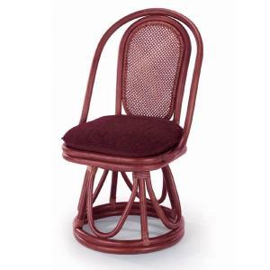 送料無料 上質な 籐 回転式 レストランチェアー 幅46 高さ84 ( ラタン チェア ダイニングチェアー 椅子 いす 敬老の日 イス B-120D )|age