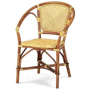 送料無料 上質な 籐 レストランチェアー アジロ編み 幅59 高さ80 ( ラタン チェア ダイニングチェアー 椅子 いす 敬老の日 イス B-122A )|age