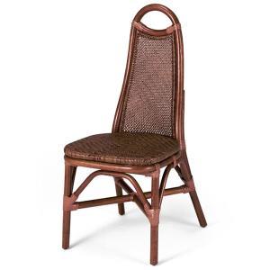 送料無料 上質な 籐 レストランチェアー アジロ編み 幅42 高さ94 ( ラタン チェア ダイニングチェアー 椅子 いす 敬老の日 イス B-125D )|age