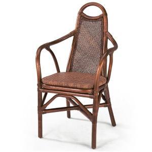 送料無料 上質な 籐 レストランチェアー アジロ編み 幅52 高さ94 ( ラタン チェア ダイニングチェアー 椅子 いす 敬老の日 イス B-126D )|age