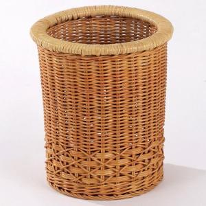 新生活 直径23×高さ26(cm) ラタン(籐)を使用した、上質な籐製品のフリーバスケットです。 ■...