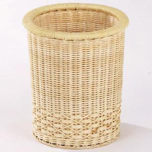 新生活 直径27×高さ31(cm) ラタン(籐)を使用した、上質な籐製品のフリーバスケットです。 ■...