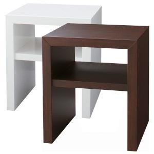 送料無料 使い方イロイロなモダンデザイン エンダーテーブル2型 サイドテーブル コーヒーテーブル ナイトテーブル 電話台 棚 ラック BA-30 新生活 age