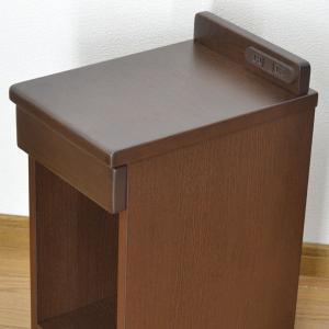 完売致しました。送料無料 幅25cm ナイトテーブル コンセント付き 引き出し付き スリム 細い 省スペース コンパクト サイドテーブル MG-25|age|05