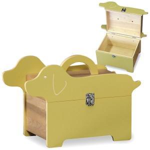 送料無料 可愛らしい 木製 救急箱 ドッグ ( 薬箱 救急ボックス 小物入れ 犬 サプリメントボックス ) T5525|age