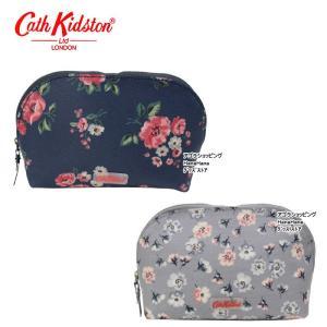 キャスキッドソン カーブド メイクアップ バッグ コスメポーチ 786416 786119 化粧ポーチ Curved Make Up Bag Cath Kidston ag-1374 agora-store