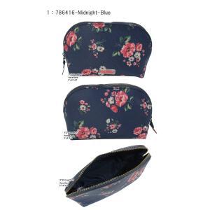 キャスキッドソン カーブド メイクアップ バッグ コスメポーチ 786416 786119 化粧ポーチ Curved Make Up Bag Cath Kidston ag-1374 agora-store 02