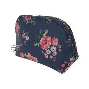 キャスキッドソン カーブド メイクアップ バッグ コスメポーチ 786416 786119 化粧ポーチ Curved Make Up Bag Cath Kidston ag-1374 agora-store 05