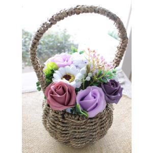 ソープフラワー 誕生日 結婚 お祝い プロポーズ 香り フレグランス ギフト プレゼント 造花  アレンジ フラワーソープ「ルル」 agreable1999