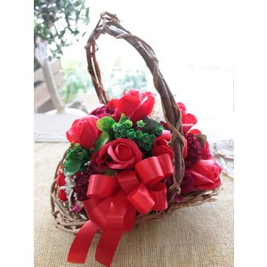 ソープフラワー 花束 ブーケ シャボン 送別祝い 誕生日 結婚 お祝い 香り フレグランス ギフト 造花 フラワーソープ「シャボンブーケ」|agreable1999