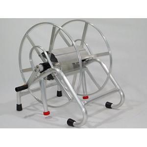 アルミス アルミ製ホース巻取機ラック式150m(ISOより戻し付き)|agriz