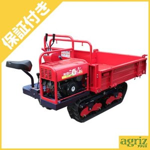 (プレミア保証プラス付) 筑水キャニコム クローラー運搬車 BK66MLTD 手動ダンプ|agriz