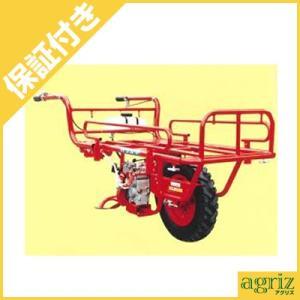 (プレミア保証プラス付) エルタ 動力一輪車(運搬車) PC2-RD (150キロ積載)(パワーカート/ラジアルタイヤ仕様)(ホイール式運搬車)|agriz