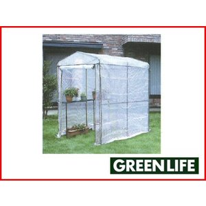 グリーンライフ ビニール温室 ジャンボ BO-006G(組立式)