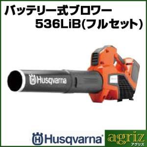 ハスクバーナ バッテリー式ブロワー 536LiB(フルセット)|agriz