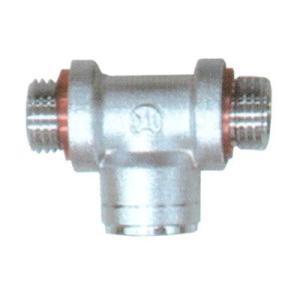永田 8.5mm T型分水金具(G1/4)(噴霧器 噴霧機 動噴 防除 噴口 ノズル)|agriz