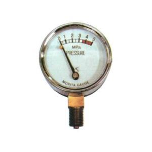 永田 圧力計 50mm×5.0MPa(PT1/4)(噴霧器 噴霧機 動噴 防除 噴口 ノズル) agriz