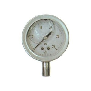 永田 グリセリン入圧力計(オールステンレス製)60mm×16MPa(PT1/4)(噴霧器 噴霧機 動噴 防除 噴口 ノズル) agriz