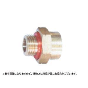 永田 異径金具 G1/4オス×G1/2メス(継手・配管部品・ジョイント真鍮製) agriz