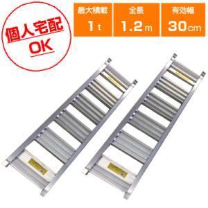 1t アルミブリッジ 2本セット シンセイ アルミブリッジ(あぜこし用)120-30-1.0(ツメ式)(長さ1200×幅300(mm))道板 歩み板 ラダー 小型建機・農機用|agriz