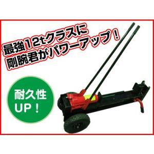 (個人宅配送OK)手動式油圧薪割り機(薪割機) HLS-12T(12tクラス)(代引OK)|agriz