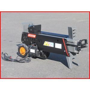 (個人宅配送OK)片手操作 7トン(7tクラス) 電動式油圧薪割り機(薪割機) NWS7T(メーカー直送)(代引OK)|agriz